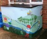 A Smurfy Coal Bunker by UncleGargy