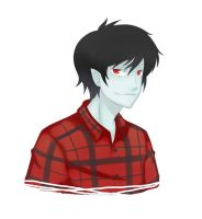 Marshall Lee Portrait by ghost-youkai