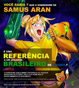 Did you get the reference? Samus Aran BR by Leandroyepyep