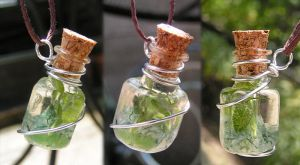 Magic Vial - The Apothecary Pendant by Izile
