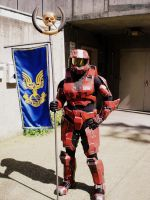 A Spartan of Halo by OneLifeRemaining
