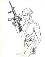 Army Girl Inked by mr-ss