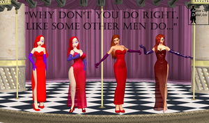 Jessica Rabbit in 3DD by andrewong1980