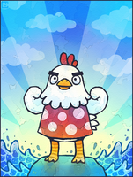 Animal Crossing: Goose by Cavea