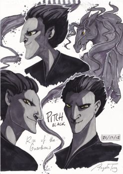 Pitch sketches by Dreamsoffools