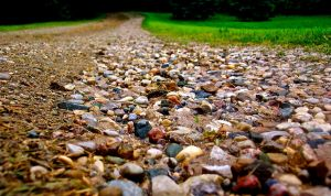 Stones in a path by soraheartless69