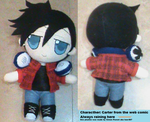Carter plushie by Hao-007
