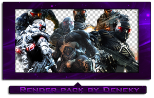 Crysis render pack by Deneky