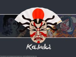 Kabuki wallpaper by SnowStar90