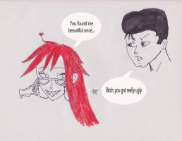 Ash and Grell by MysticWonderingWoman