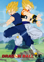 DBUC: Vegetto X Gogeta by darkhawk5