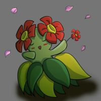 Bellossom by yunalee