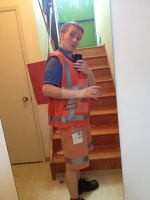 Emmet Cosplay for NorthWest FanFest 2014 completed by GingerBaribuu
