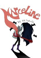 Marceline vs THE WORLD by mini-hamu
