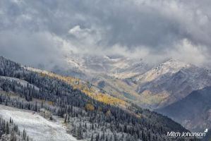 First Snow on the Resort by mjohanson