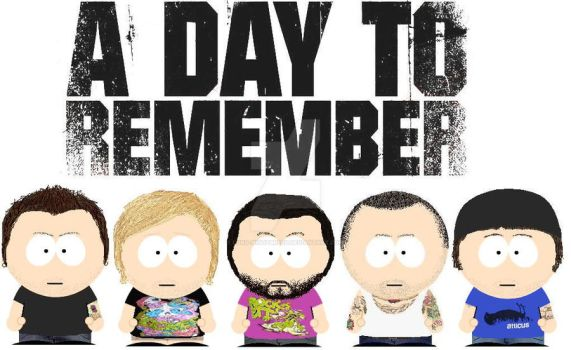 South Park A Day To Remember by lord-nightbreed