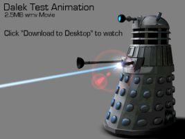 Dalek Test Animation by Fabi-the-Hedgehog