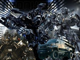 Ironhide composition by Skrillexia-TF