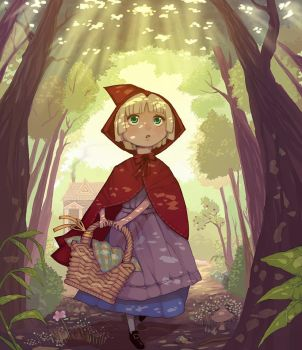 Little Red Riding Hood by e-hima