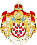 CoA House of Savoy-Croatia (Central Victory) by TiltschMaster