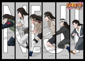 The Growth of Neji by skysirius
