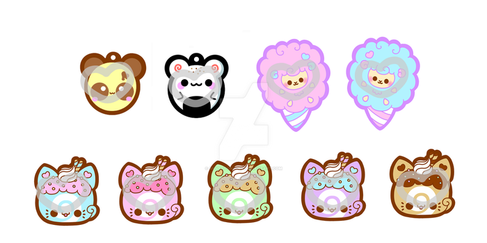 Charm Designs 1 by SilvertongueV