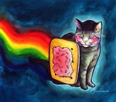 Nyan Cat by Sazmo