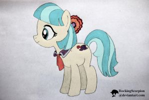 Simple Coco Pommel - digicolored by RockingScorpion