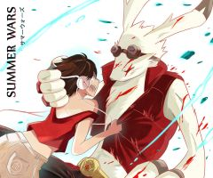 Summer Wars: Don't leave me, King by Saint-Chimaira