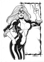 Blackcat by JeanSinclairArts