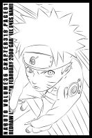 Naruto ch319 Line Art by TheNotoriousGAB