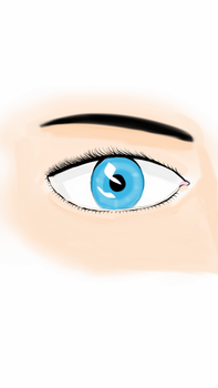 realistic eye by Laiburger