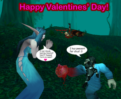 A very bloody v-day gift by sweetietweety111
