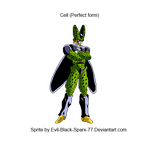Cell sprite by Evil-Black-Sparx-77
