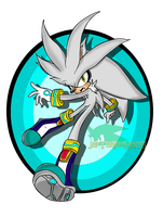Silver The hedgehog SA style by JefTheInfiHog15