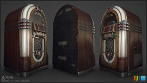 Jukebox - Textured Unlit by JeremiahBigley