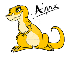 Land before time: Anna by Cynderthedragon5768