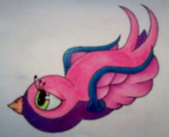Girly Swallow by mrevilrose
