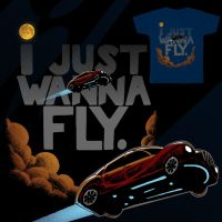 I Just Wanna FLy. by AzizDraws