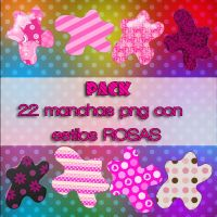 PACK Manchas png Pink/Rosa by TrubuteOfDistrict13
