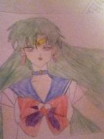 Sailor Pluto drawing by jt0002