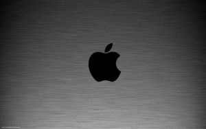 Aluminum Black Apple by Seans-Photography