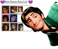 Best Disney boys listt by JtaimeEnno