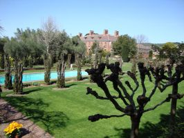 Filoli Mansion Overview by AndromedaGirl