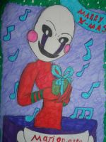 Christmas Marionette by ArtRave555