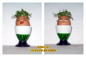 cress egg Zoro by Eirieniel