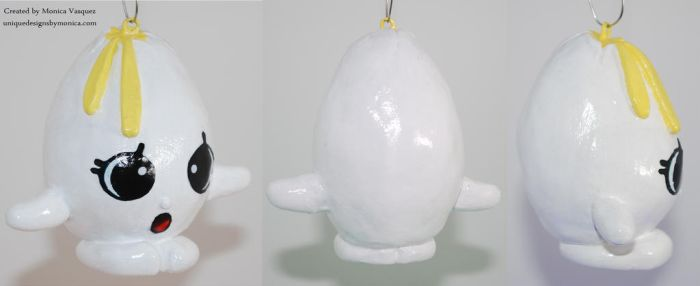 Googy Egg (Front, Side,  Back) by UniqueDesignByMonica