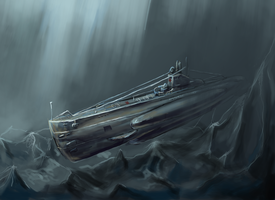Submarine ShCh class by Alcomedved