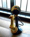 Stock - Old Fashioned Phone by rockgem