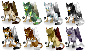 Gryphon Adopts (LOWER PRICES!) by Solsongs